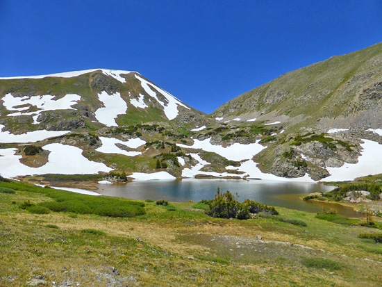 Parika Lake in the Never Summer Wilderness